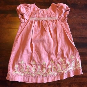 ‼️ 5/$40 Baby Boden embroidered dress, 18-24 mo
